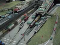 EBF Lippe Spur Z Modellbahnanlage Puttgarden