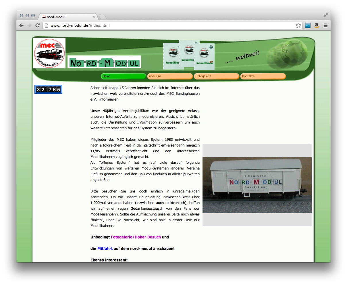 Nord-Modul Homepage