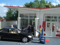 Diorama Tankstelle