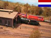 Holländische H0 Modellbahnanlage