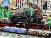 Lego Eisenbahn Dampfloks