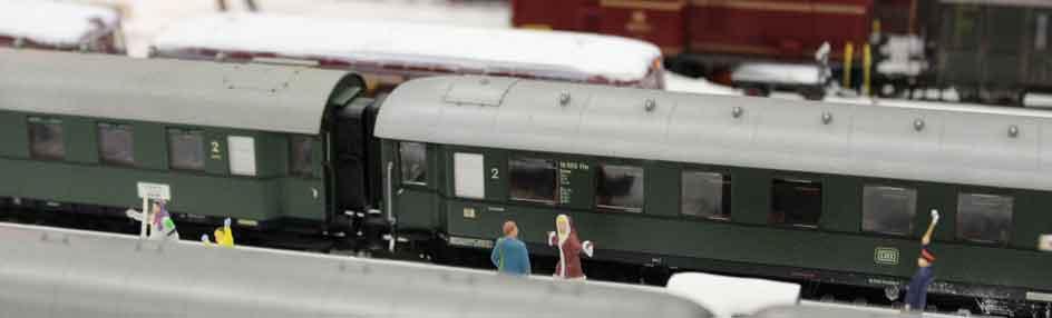 Modellbahn - Modelleisenbahn - Dioramenbau