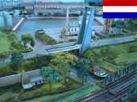 Spur N Modellbahn-Anlage Zwolle