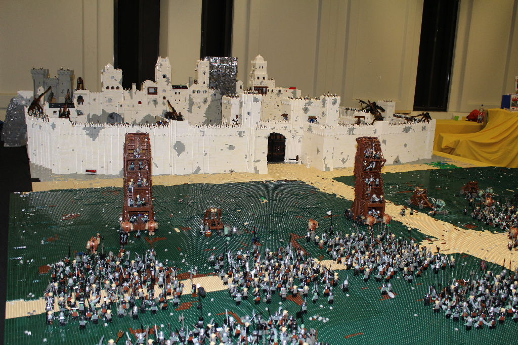 Lego Lord Of The Rings Youtube