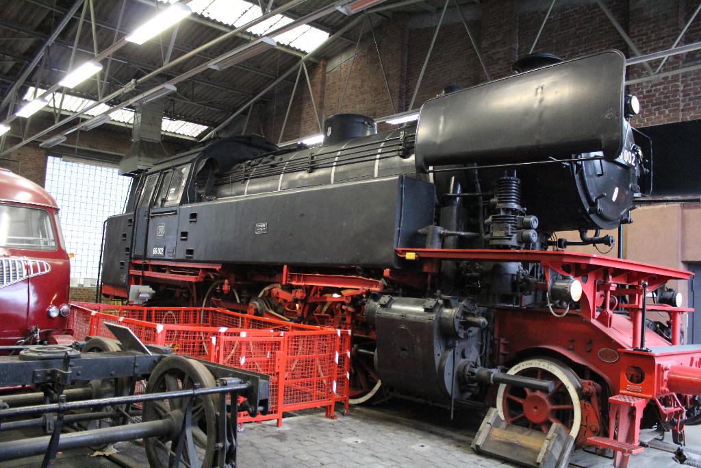 Dampflokomotive 66 002