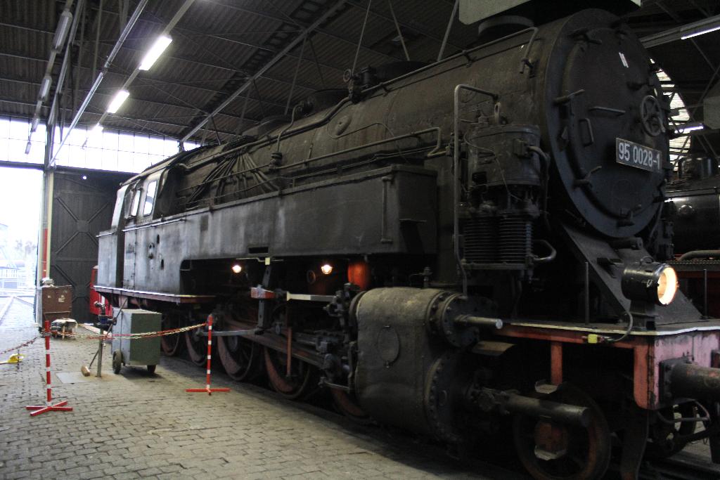 Dampflokomotive 95 0028