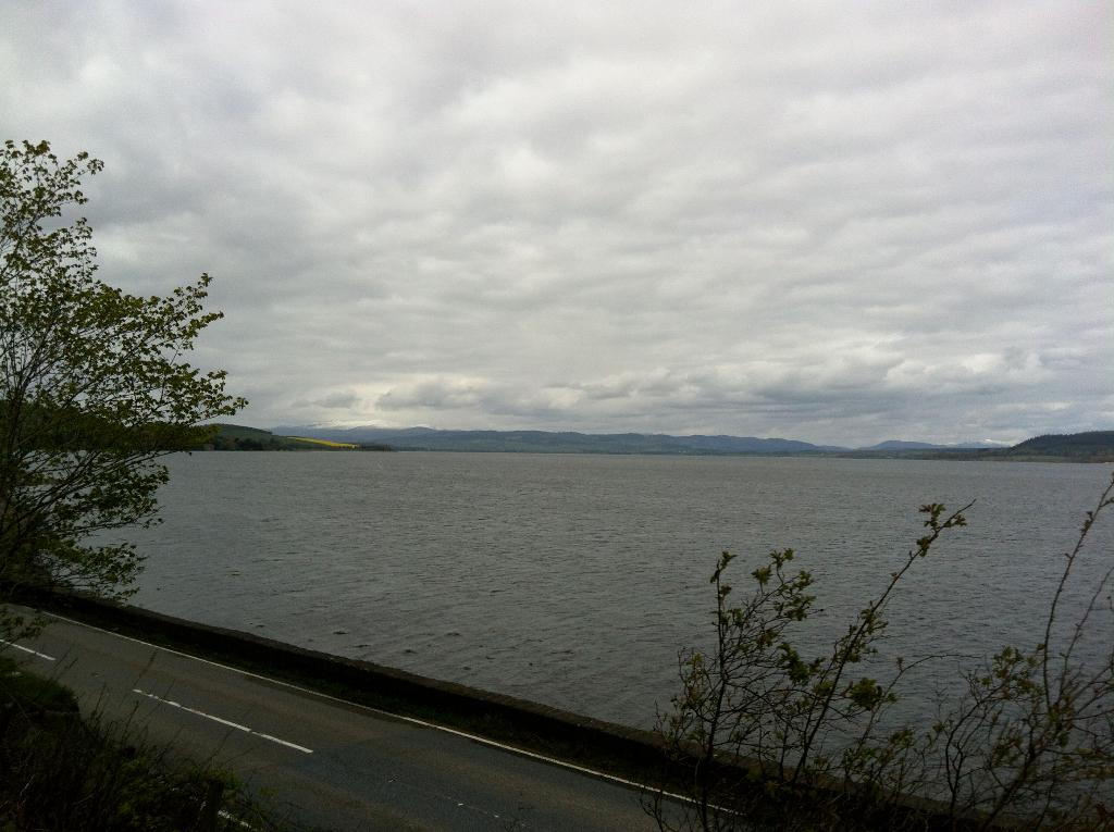 Richtung schottische Highlands