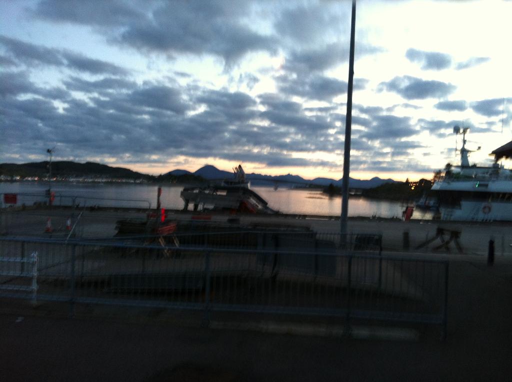 Sonnenuntergang in Plockton
