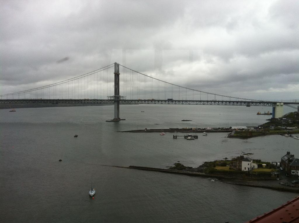 Überquerung des Firth of Fourth