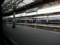 Durchfahrt im Bahnhof Aberdeen