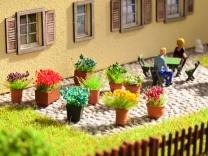 NOCH Art.Nr. 14031 Blumen in Blumentöpfen