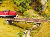 Art.Nr. 67025 Brückenfahrbahn gebogen R1 H0 UVP EUR 29,99