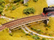 Art.Nr. 67026 Brückenfahrbahn gebogen R2 H0 UVP EUR 29,99